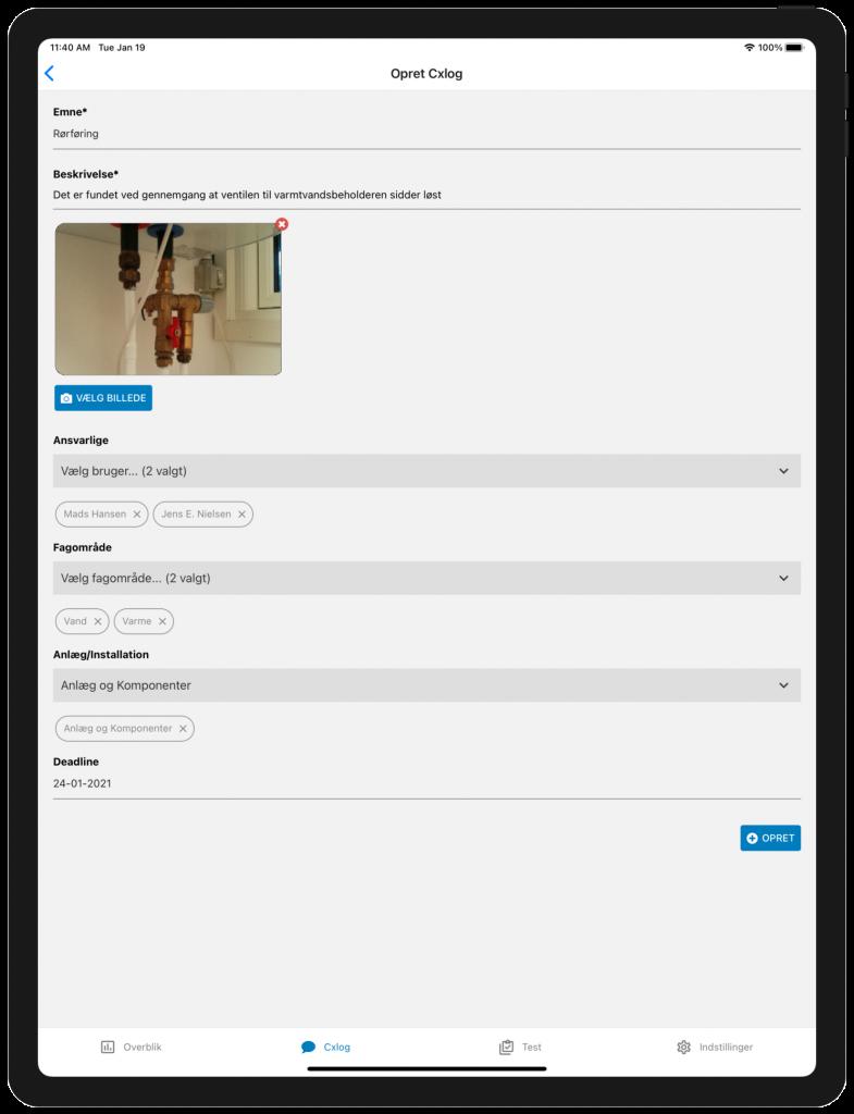 CXweb Tablet